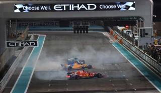 Alonso, Hamilton y Vettel en Abu Dhabi