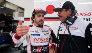 Alonso y Rob Leupen
