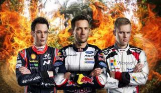 Candidatos al título WRC