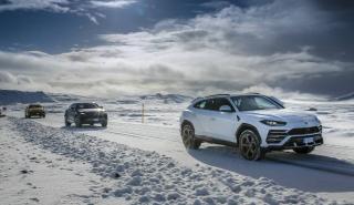 Lamborghini Urus en Islandia