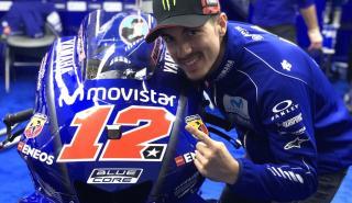 Maverick Viñales domina el primer día del Test MotoGP Valencia 2018