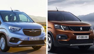 Opel Combo Life Peugeot Rifter