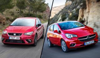 Opel Corsa GLP vs Seat Ibiza TGI