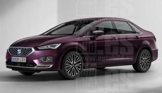 Render Seat León Sedán 2020