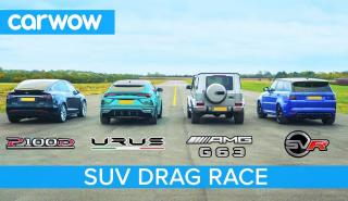 SUV Drag Race