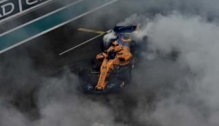 Los trompos de Alonso en Abu Dhabi