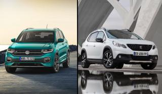 Volkswagen T-Cross vs Peugeot 2008
