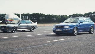 BMW M3 E30 vs Audi RS2