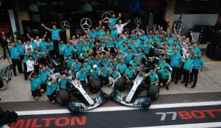 Celebracion Mercedes F1