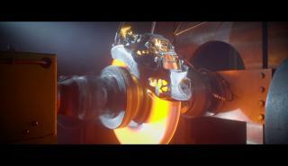 frenos 3D del Bugatti Chiron