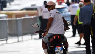 Hamilton con moto