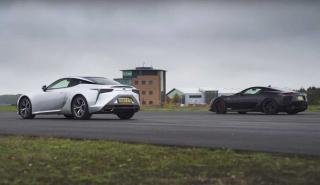 Lexus LC 500 vs Lexus LFA