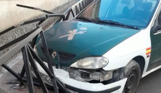 Mal estado coches Guardia Civil