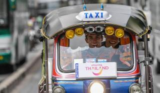 Taxi risas thailand