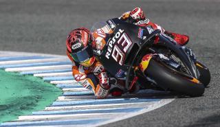 Márquez, en los test de Jerez 2018