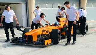 McLaren MP428 en Bahrein