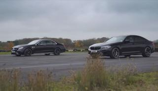 Mercedes-AMG E63 S vs BMW M5 Competition