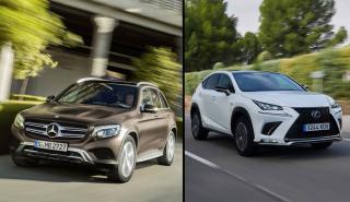 Mercedes GLC vs Lexus NX