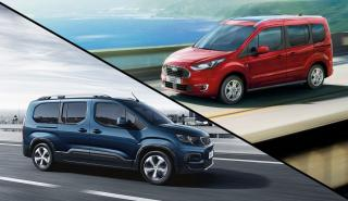 Peugeot Rifter vs Ford Tourneo