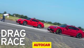 Porsche 911 Turbo S contra Porsche Panamera Turbo S E-Hybrid