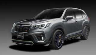 Subaru Forester y el Impreza STI Concepts serán presentados el próximo mes