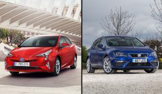 Toyota Prius vs Seat León TGI