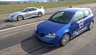 Toyota Supra contra Volkswagen Golf