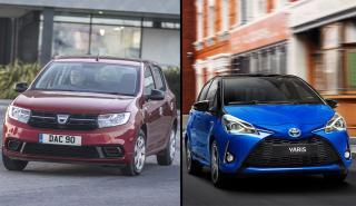 Toyota Yaris vs Dacia Sandero