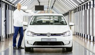 Fabricación VW e-Golf