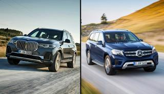 BMW X7 vs Mercedes GLS