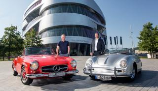 Porsche Museo Mercedes
