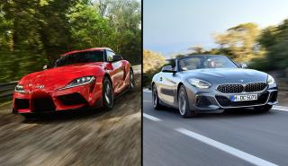 Toyota Supra 2019 vs BMW Z4 2019