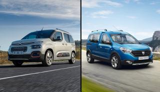Dacia Dokker vs Citroen Berlingo
