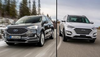 Hyundai Tucson vs Ford Edge