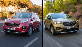 Kia Sportage vs Opel Grandland X