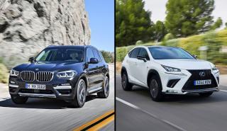 Lexus NX vs BMW X3