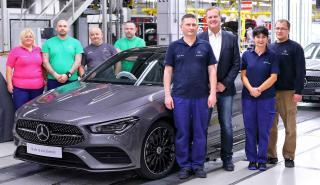 Producción Mercedes CLA Coupé