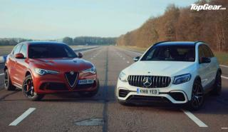Mercedes-AMG GLC 63 S vs Alfa Romeo Stelvio QV