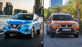 Seat Ateca 1.0 TSI vs Nissan Qashqai 1.3 DIG-T