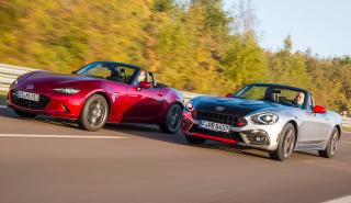Abarth 124 Spider vs Mazda MX-5