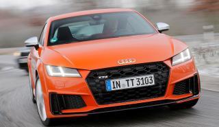 Prueba del nuevo Audi TTS Coupé