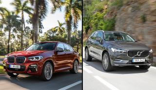 BMW X4 vs Volvo XC60
