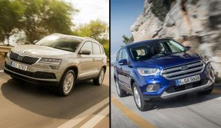 Ford Kuga 2019 vs Skoda Karoq