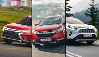 Honda CR-V vs Mitsubishi Outlander vs Toyota RAV4