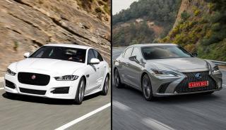 Lexus ES vs Jaguar XE