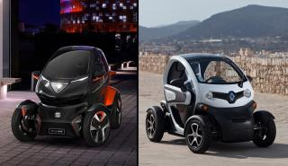 Seat Minimo vs Renault Twizy
