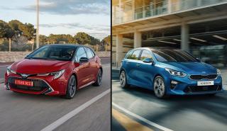Toyota Corolla vs Kia Ceed 2019