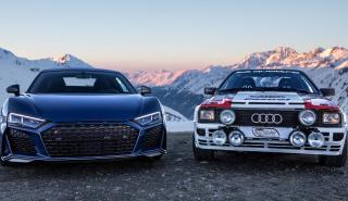 Audi Quattro y Audi R8