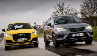 Cupra Ateca vs Audi SQ2