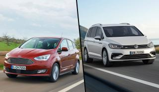 Ford C-Max vs Volkswagen Touran